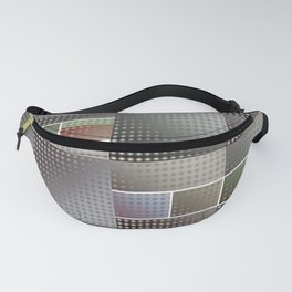 Abstract Collage Pattern Fanny Pack