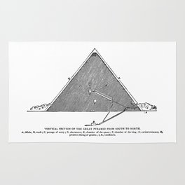 The Great Pyramid Rug