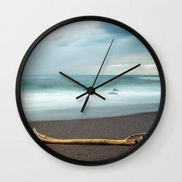 drift wood Wall Clock