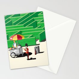Queen's Guard on a Break Stationery Cards