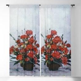 Bodegón de flores/Natureza morta de flores/Still life of flowers Blackout Curtain