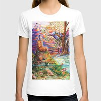 zen T-shirts featuring Zen by Kat Miles