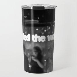 We Ruled The World Travel Mug