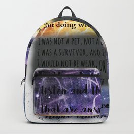ACOMAF QUOTES Backpack