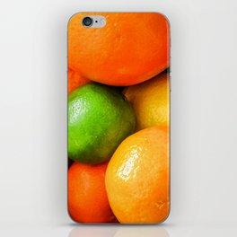 Oranges Lemons & Limes iPhone Skin
