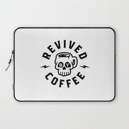 Revived By Coffee v2 Laptop Sleeve