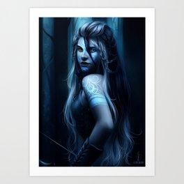 "Melissa - ""Scorpion II"" Art Print"