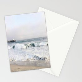 Crashing waves & hazy skies Stationery Cards