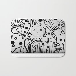 Forming Thoughts Bath Mat