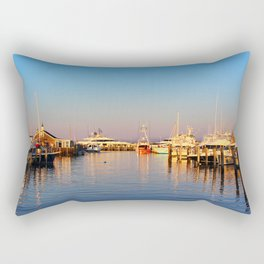 Nantucket Harbor Rectangular Pillow