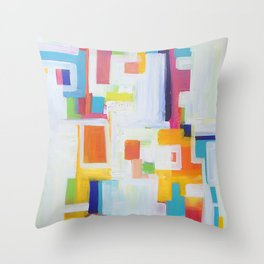 WHERE DO THE CHiLDREN PLAY? Throw Pillow