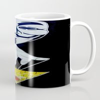 anonymous Mugs featuring Anonymous by Edgar Huaracha