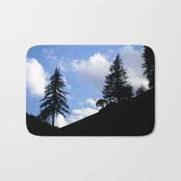Dark Forest, Light Feeling Bath Mat