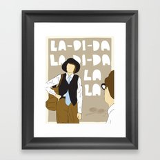 La-Di-Da - Annie Hall Framed Art Print