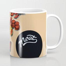 Red meat Coffee Mug