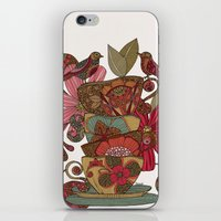 good morning iPhone & iPod Skins featuring Good Morning by Valentina Harper