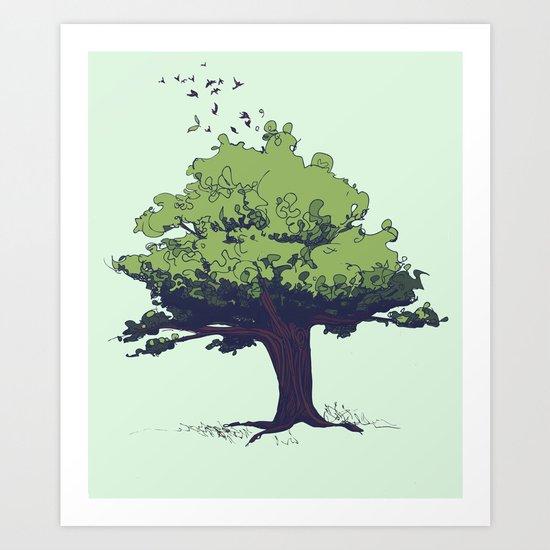 Arbor Vitae - Tree of Life Art Print
