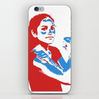 feminism iPhone & iPod Skins featuring Feminism by DebbieHughes