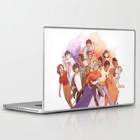 les miserables Laptop & iPad Skins featuring Les Miserables: Un Groupe Qui a Failli Devenir Historique by batcii