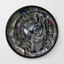 Fractured Brushes In a World Wall Clock
