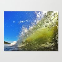 surf Canvas Prints featuring Surf by Nicklas Gustafsson