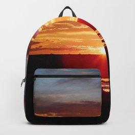 Ground Level Sunset Backpack