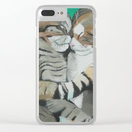 Lovers Clear iPhone Case