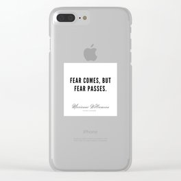 68  |  Marianne Williamson Quotes | 190812 Clear iPhone Case