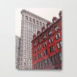 New York City - Flatiron Building Metal Print