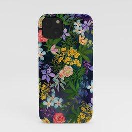 Flowery Marijuana iPhone Case