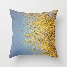 BRING ON THE SUNSHINE Throw Pillow