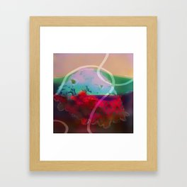abstract 006. Framed Art Print