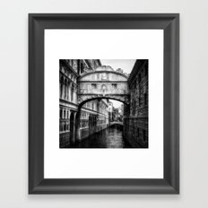 Ponte dei Sospiri | Bridge of Sighs - Venice  Framed Art Print