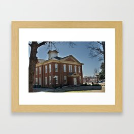Cherokee Nation - Capitol in Tahlequah, No. 1 of 3 Framed Art Print