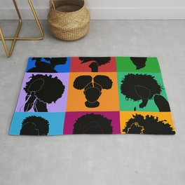 FOR COLORED GIRLS COLLECTION COLLAGE Rug