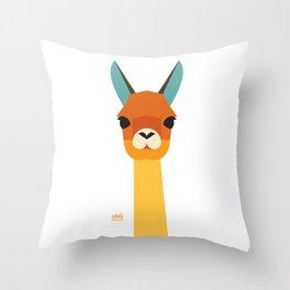 Vicuna Throw Pillow
