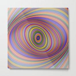 Happy Hypnosis Metal Print