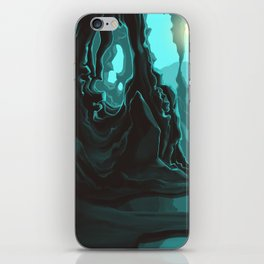 Whistling Caves iPhone Skin