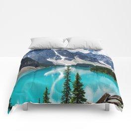 Lake Moraine Banff Comforters