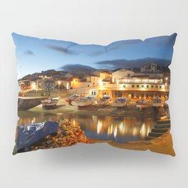 Fishing harbour Pillow Sham