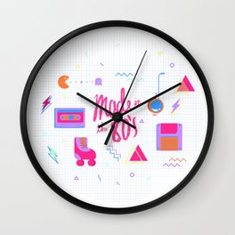 Made in the 80's Wall Clock