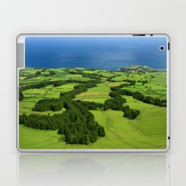 Typical Azores landscape Laptop & iPad Skin