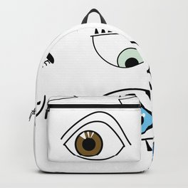 Eye game Backpack