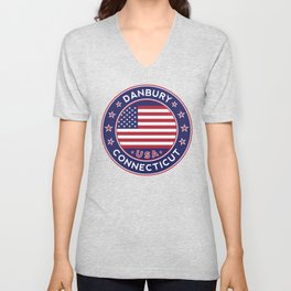 Connecticut, Danbury Unisex V-Neck