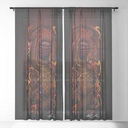 Dragon (Signature Design) Sheer Curtain