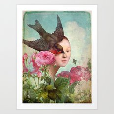 The Silent Garden Art Print