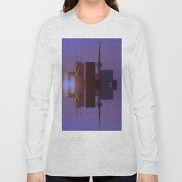 Skyline Symmetry in Toronto, Ontario  Long Sleeve T-shirt