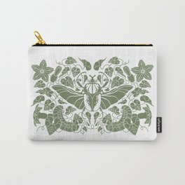 Beetle Bloom Carry-All Pouch