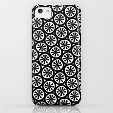 black spokes Slim Case iPhone 5c