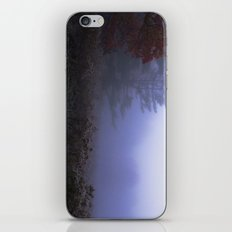 Early morning in a foggy and frosty autumn morning at Sharron Woods iPhone & iPod Skin